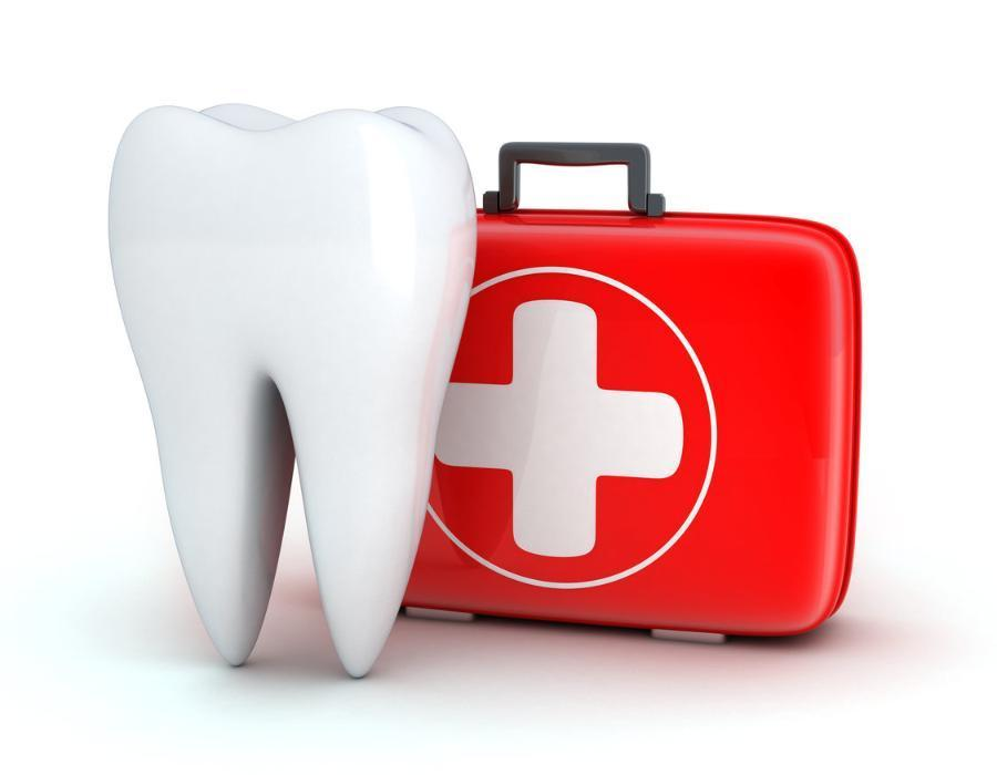 Tooth and first aid kit | Dental Emergency Calgary AB
